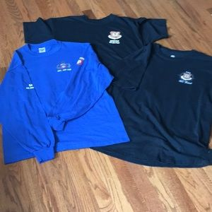 Trio of Air Force t shirts
